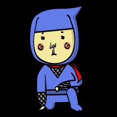 [LINEスタンプ] 忍者&忍犬 (1)