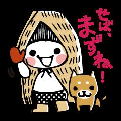 雪んこ&柴犬タロウの新潟弁