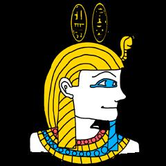 エジプトスタンプ