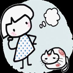 [LINEスタンプ] かあふぁいと (1)