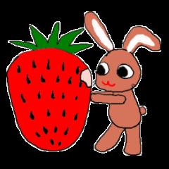 [LINEスタンプ] 愛·癒しのウサギ1の画像(メイン)