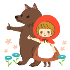 [LINEスタンプ] Fairy tale frends 2 (1)