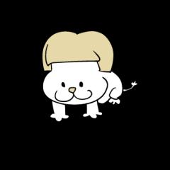 おかっぱ 子ライオン