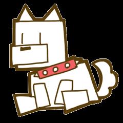 猫が丸なら犬は四角でしょう。