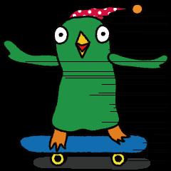 ナゾの鳥ばぁ~どんの衝撃的な一日