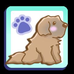 レオンベルガー 犬スタンプ