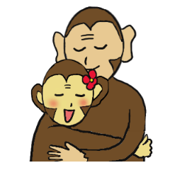 Monkey couple life