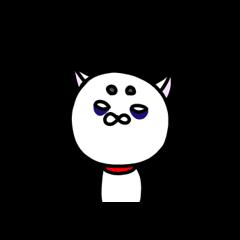 [LINEスタンプ] 白い犬。2 (1)