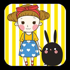 エイミーと焼きウサギ