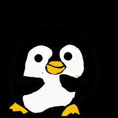 8才娘の丸ペンギンと大阪おかんのイヌクマ