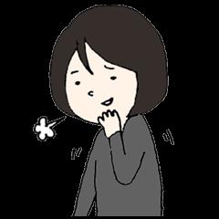 [LINEスタンプ] めんどくさい先輩の画像(メイン)