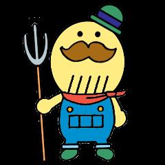 つげさん☆貝塚市イメージキャラクター