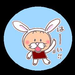 こまめっちょ No.4(うさぎスーツ)