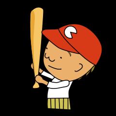 [LINEスタンプ] すべての野球ファンに届けるスタンプ (1)