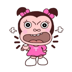 [LINEスタンプ] Tammie girl (1)