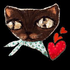 かわいいピエロ猫