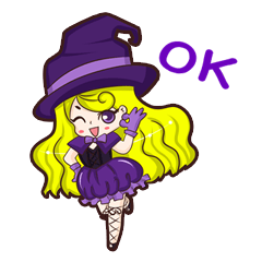 """Mahou Shojo """"Akiko"""" witch"""