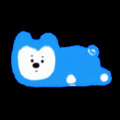 ブルー犬。