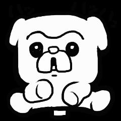 [LINEスタンプ] 犬吉 (1)