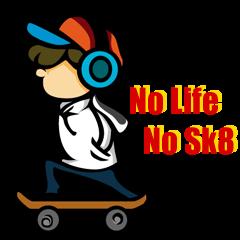 no life no sk8