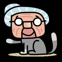 Grandma Cat