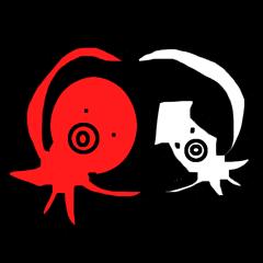 タコ男とイカ男