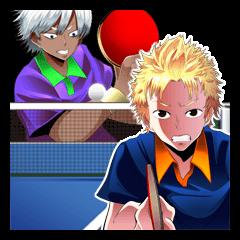 卓球少年&少女