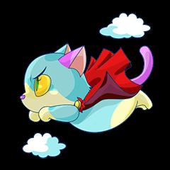 ★青い猫 トニー★