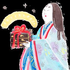 平安たより奈良絵本スタンプ