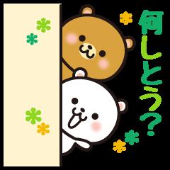 神戸弁のゆるくま。兵庫県の方言