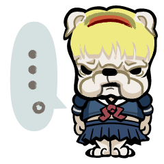 女子高生・犬田ブル子