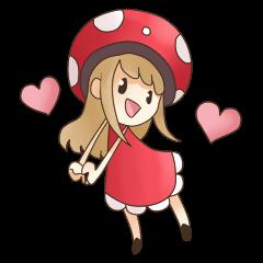 Funghi Girl