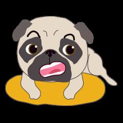 [LINEスタンプ] Baby Funny Pug