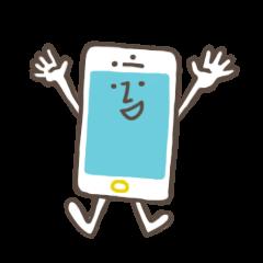 携帯電話の妖精。