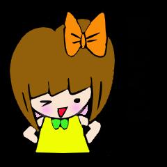 かわいい女の子 リッカちゃんの会話 Vo.3