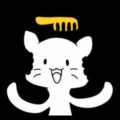 Afro Kitten