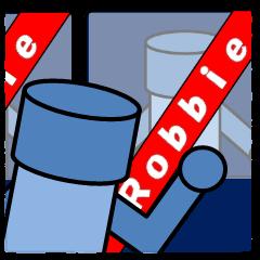 ロビーのスタンプ