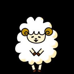 羊のスタンプ(日常会話編)