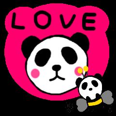 パンダの生活色