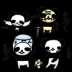 小学生の子供が描いたパンダ