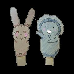 パペット手袋人形