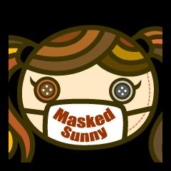 Masked Sunny