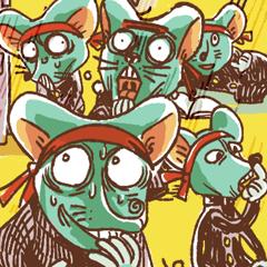 ネズミの応援団長