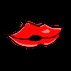 唇キスマーク