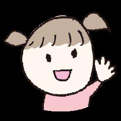 ななちゃん(4歳児)手書き風