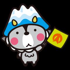 おおまぴょん(大町市キャラクター)