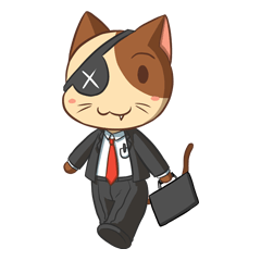Maggie the Salary Cat