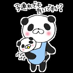 パンダの子育て