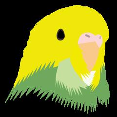 小鳥スタンプ