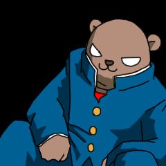 ハイスクールクマさん